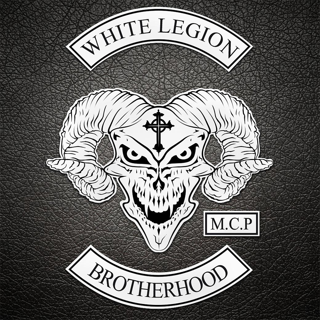 LOGO-BIKERS-BANDIDOS-MC-WHITE-LEGION-GRAPHISTE-PAS-CHER-MONTPELLIER