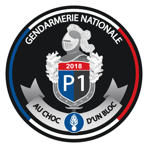 Reussir un logo ecusson gendarmerie