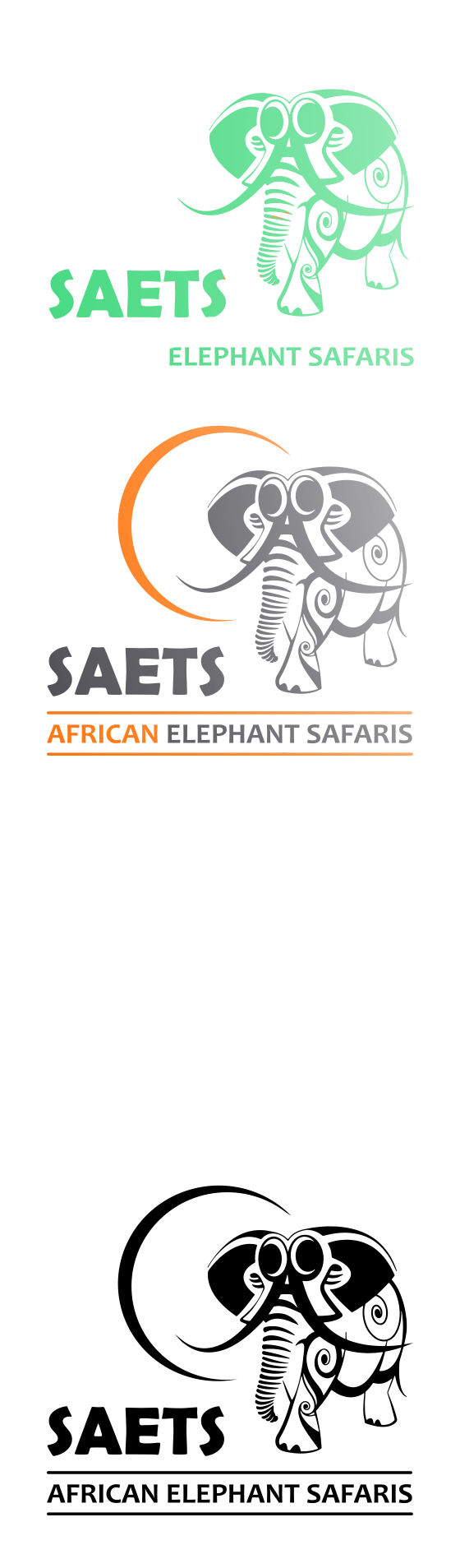 declinaison-du-logo-pour-des-safaris-avec-des-elephants