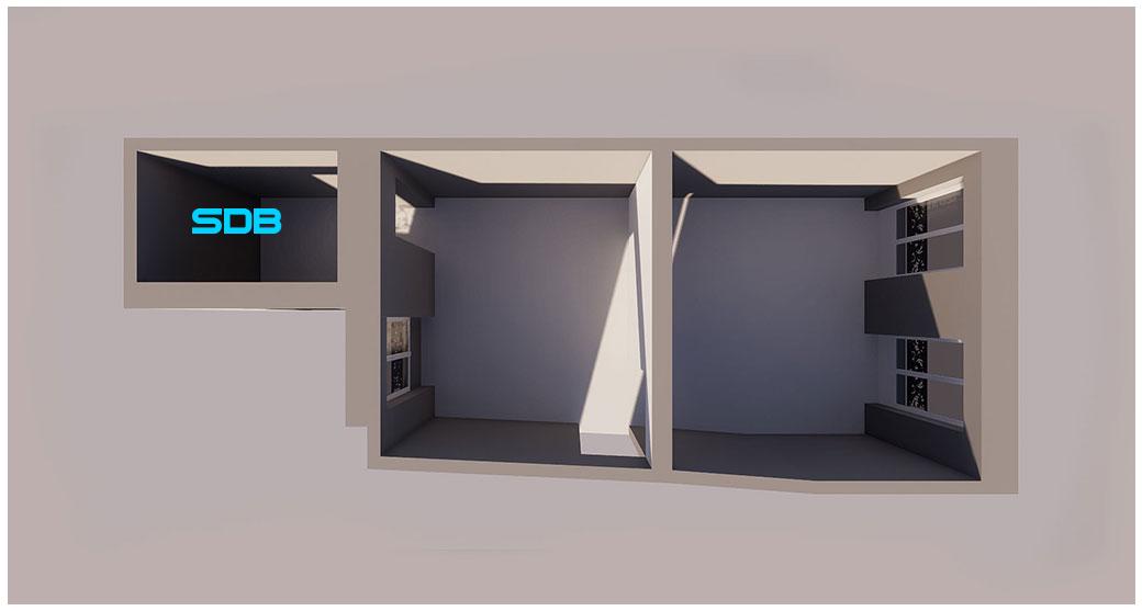 PLANS 3D POUR UNE SALLE DE BAIN – PROJET DE RÉNOVATION