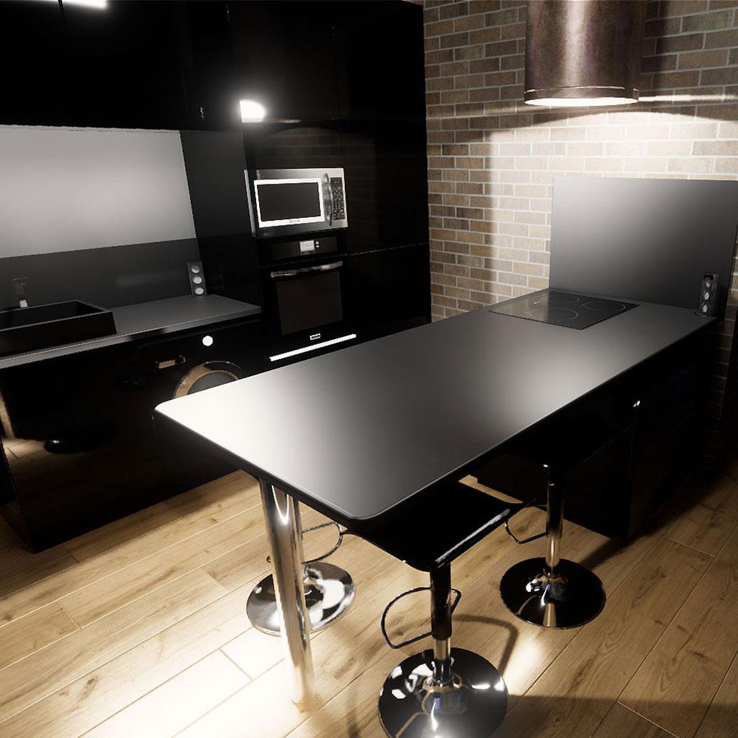PLANS 3D POUR UNE CUISINE – PROJET DE RÉNOVATION PLANS 3D POUR UNE CUISINE – PROJET DE RÉNOVATION