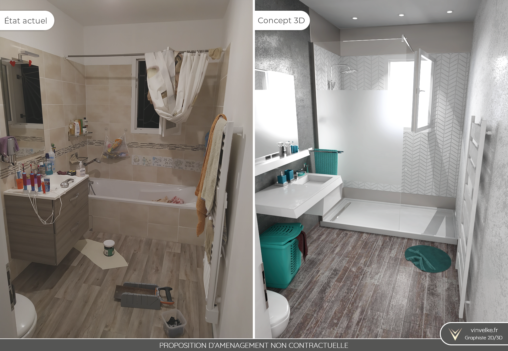 HOME STAGING 18D PHOTOREALISTE - Graphiste freelance