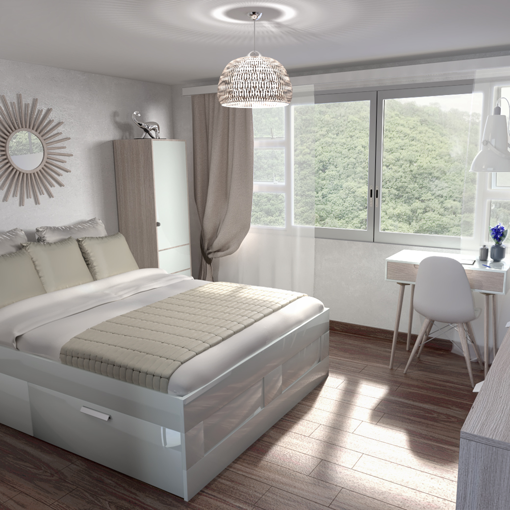 HOME STAGING VIRTUEL POUR UNE CHAMBRE HOME STAGING VIRTUEL POUR UNE CHAMBRE