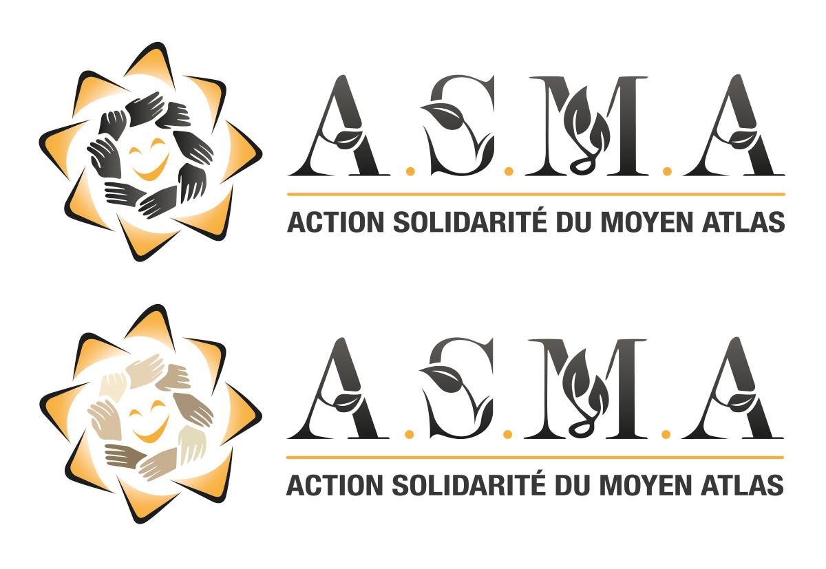 logo pour une association humanitaire rectangulaire